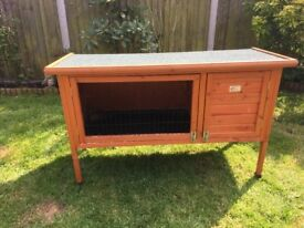 4ft bunny business hutch