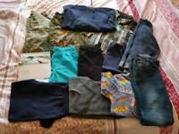 Bundle of boys clothes 9-10