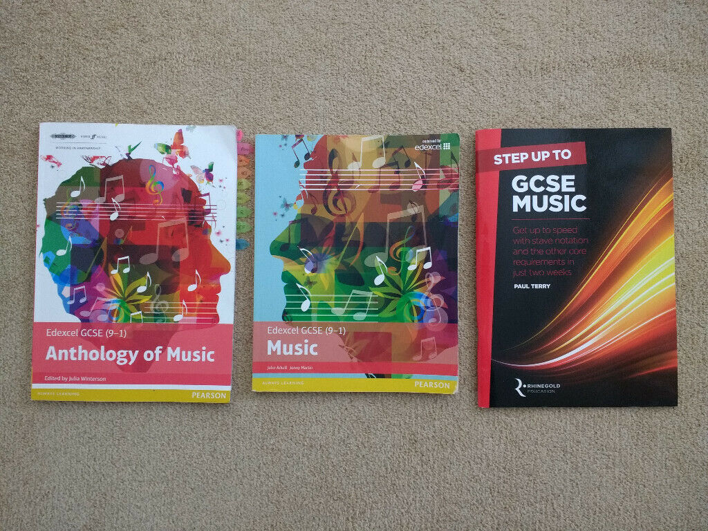 Edexcel GCSE (9-1) Music/Anthology of Music/Step up to GCSE Music Textbooks  | in Ponteland, Tyne and Wear | Gumtree