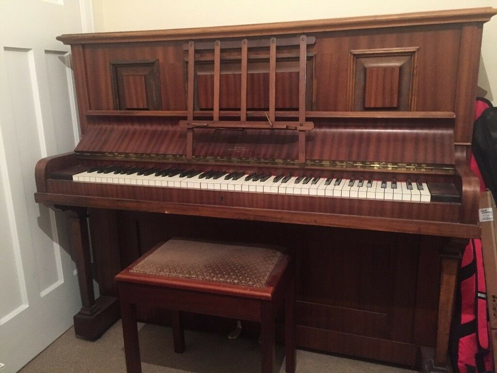Free Upright Piano + Stool Needs collected ASAP by 28/01/2018 You just need to arrange collection