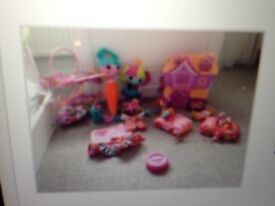 Dolls and Lalaloopsy house