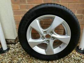 """For sale 4x 17"""" alloy wheels and tyres for Toyota CHR"""