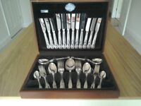 44 Piece Silver Plated Canteen of Cutlery