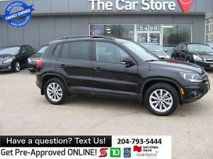 2012 Volkswagen Tiguan 2.0T COMFORTLINE SPORT SUNROOF LEATHER BL