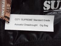 supreme standard grade acoustic dreadnought gig bag Guitar Soft Case