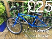 """Selection of Smaller size Mountain Bikes suits 4""""6 to 5""""4 - £25 - £50 Boys or girls male or female"""