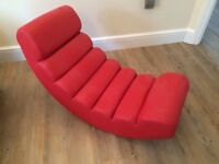 Dwell Red Ripple Rocker - Excellent Condition, £70 (£199 in store)