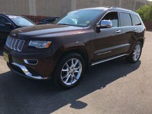 2014 Jeep Grand Cherokee Summit, Auto, Navigation, Leather, Sunr