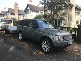 Range Rover vogue lpg