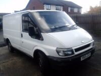2005 FORD TRANSIT VAN, 5 MONTHS MOT, RUNS AND DRIVES VERY WELL, NO OFFERS