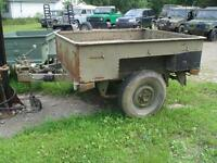 land rover defender remorque trailer 3/4 ton
