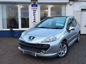2008 08 Peugeot 207 SW 1.6 VTi 120 Sport~LOVELY LOW MILEAGE EXAMPLE~