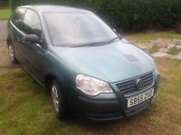 Vw polo 55reg drives 79k spare or repairs
