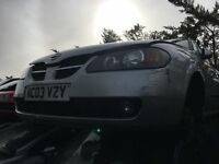 NISSAN ALMERA SVE 2003- FOR PARTS ONLY