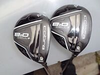 cobra biocell + 3 and 5 woods with matrix vlct ite shafts
