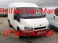 Belfast Van Man removals