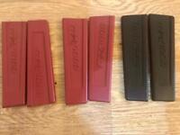 Akai MPC 1000 Original Side Panels (x2 Red x1 Black)