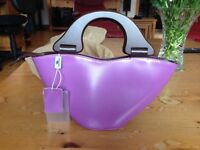Italian Leather Handbag by Daniela Moda