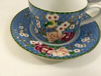 Antique Asian cups and saucers
