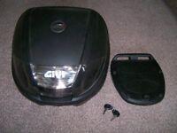 Givi motorcycle top box