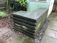 48nr Flamed Granite 600mm x 700mm x 75mm