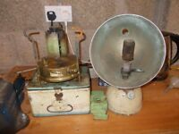 vintage tilly lamp and stove