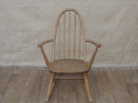 ERCOL compact rocking / nursing chair (Delivery)