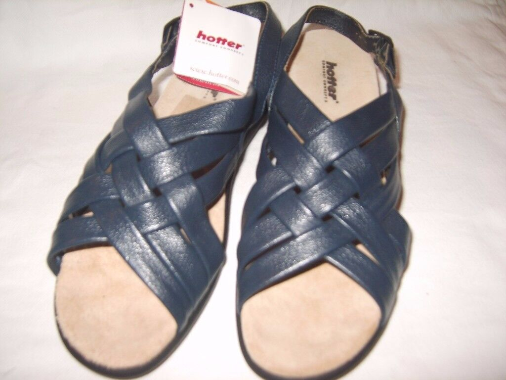 New Hotter Softy Lea Ladies Sandals (with original box)