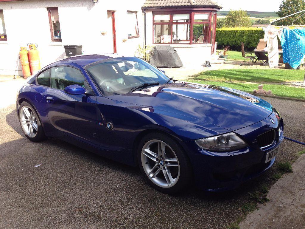 Rare 2008 Bmw Z4m Coupe Low Mileage Interlagos Blue