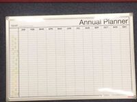 FREE > White board, with annual planner