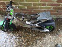 Mini moto banshee