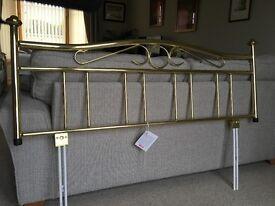 Brass bedhead