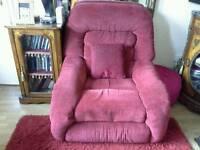 Lazy boy recliner chair.