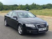 Audi A6 Saloon 2.0 TDI SE, Cam @ 108K, Rare TAN LEATHER INTERIOR, F S History,Long MOT,New EGR Valve