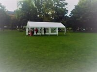 4x8m PE Marquee / Party Tent, white