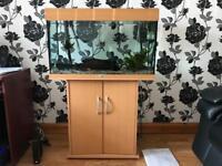 Juwel Rio 125 Aquarium Fish Tank + Filter Heater Accessories Complete Set Up Jewel