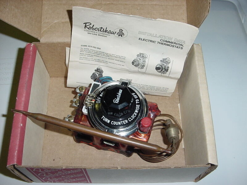 Robertshaw 5140-006 - Electric Thermostat NEW