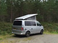 VOLKSWAGEN TRANSPORTER T5 T26 tdi with luxury conversion completed in 2014