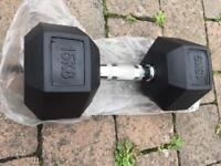 Hex dumbbells new £1.50 per kilogram