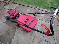 petrol lawnmower mountfield