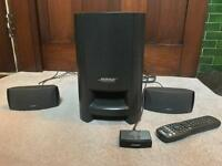 BOSE CINEMATE DIGITAL HOME THEATER SPEAKER SYSTEM FOR TV. EXCELLENT CONDITION.