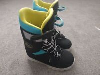 Wed'ze Indy 300 Snowboard Boots UK 4