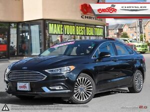 2017 Ford Fusion AWD SE P-ROOF H-TED SEATS LEATHER B-TOOTH ALLOY