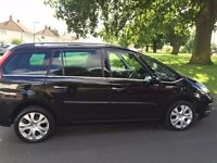 UBER REGISTERED CITROEN C4 GRAND PICASSO AUTOMATIC DIESEL 2012 (62 PLATE ) PCO VALID TILL 28/07/2017