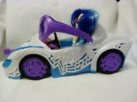 Motor Car, Sunglasses, DJ Pon-3 My Little Pony Equestria Girls Dolls Toy Bundle.
