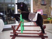 LARGE ROCKING HORSE FOR SALE