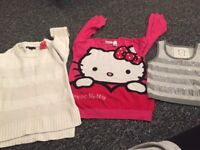 Bundle of girls clothes age 7-8 over 40 items top stores mixture of summer and winter