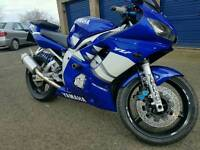 2000 Yamaha r6 for sale or swap for 250 mx bike, rm, cr, kx, ktm, yz, tm