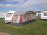 TOURING CARAVAN SPRITE+AWNING+NEW BATTERY+many other things.