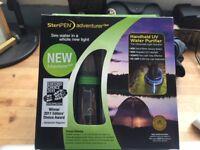 SteriPEN Adventurer Opti handheld UV water purifier- Brand new sealed unit